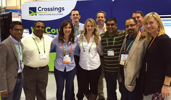 Crossings Team at Cerner Health Conference
